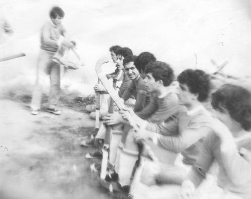 Koмaндa Лори перед матчем. Раздан, 1982 год