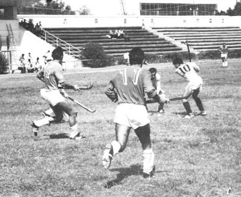 Матч чемпионата СССР Гартал - Лори. Сумгаит. 1985 год