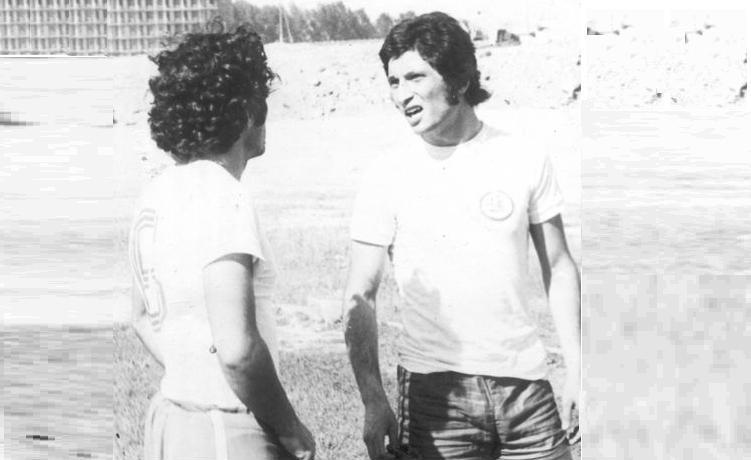 Арарат Мовсесян и Сергей Саркисян. Oктемберян - 1977г