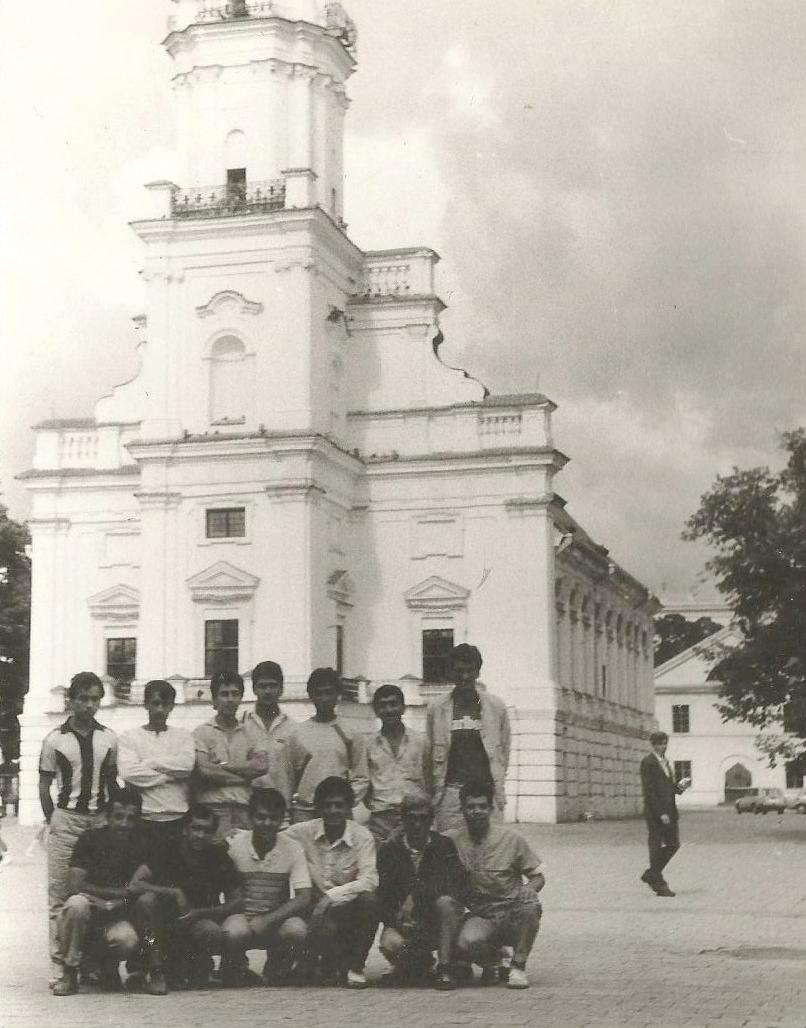 Лори - Каунас. 1988 год