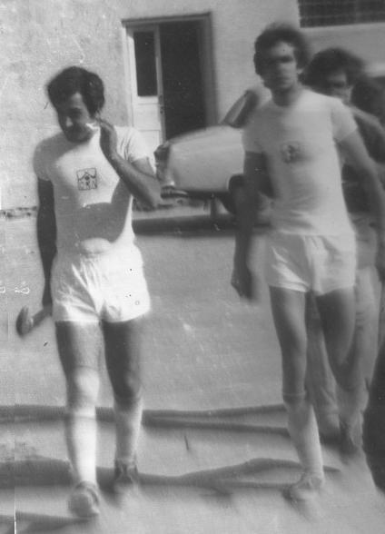 Ваграм Джинбашян и Владимир Габоян. Раздан - 1982г